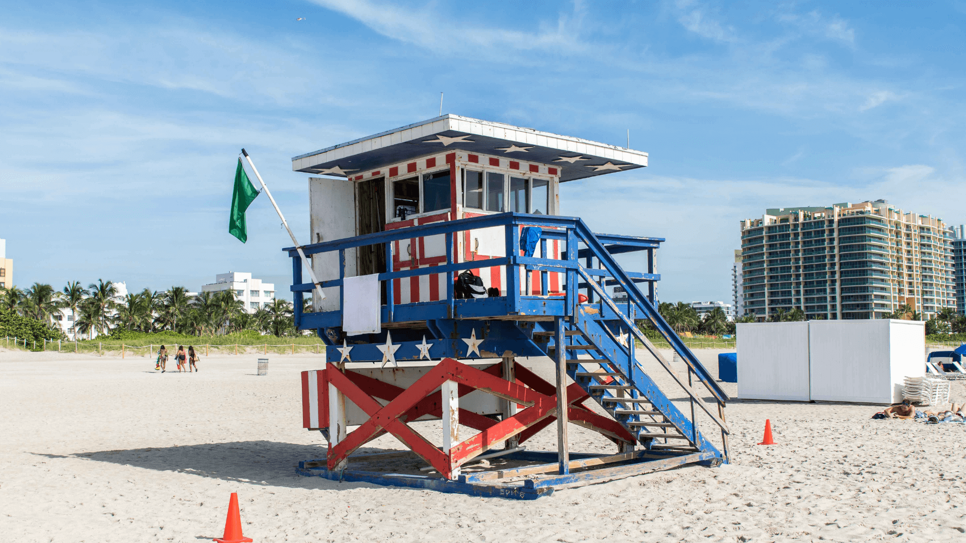Les Lifeguard Towers de Miami Beach